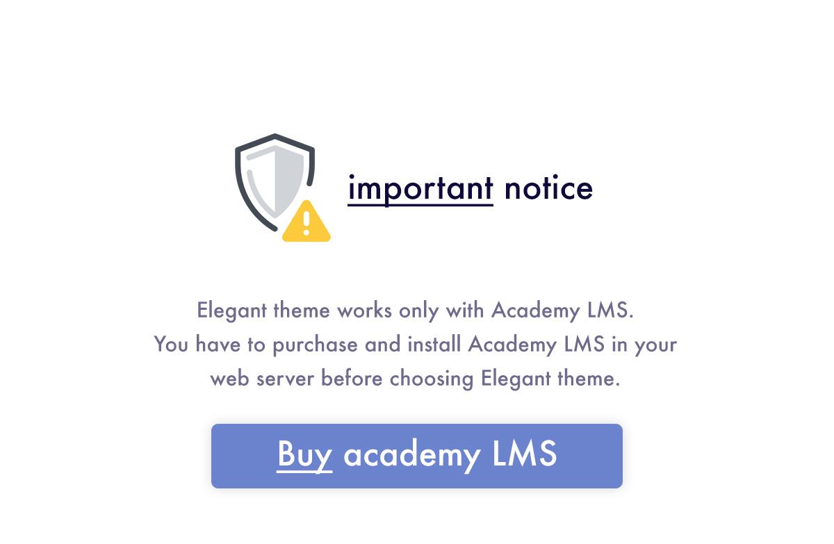 Elegant - Academy LMS Theme - 2