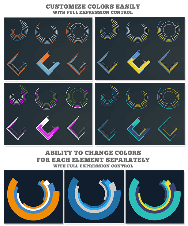 Shapes & Elements Graphic Pack - 9