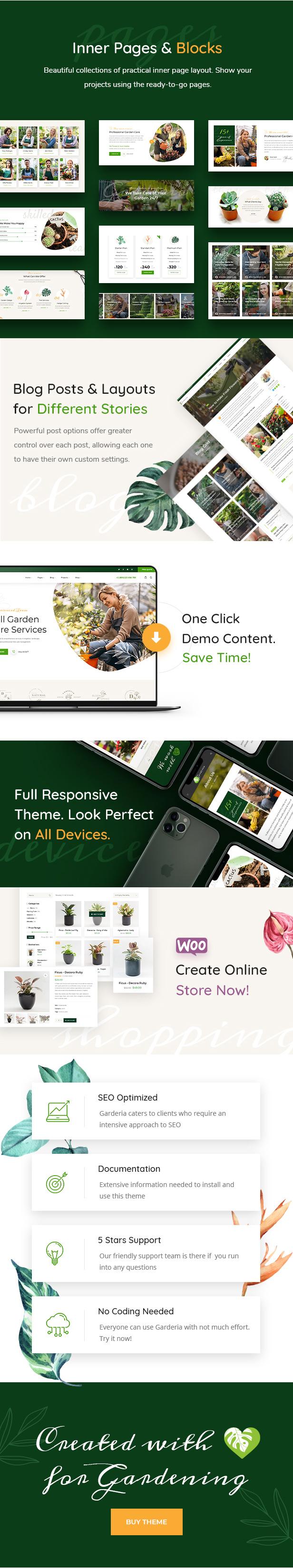 Garderia - Landscaping & Gardening  WordPress Theme - 2