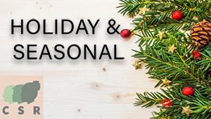 Holiday-Seasonal