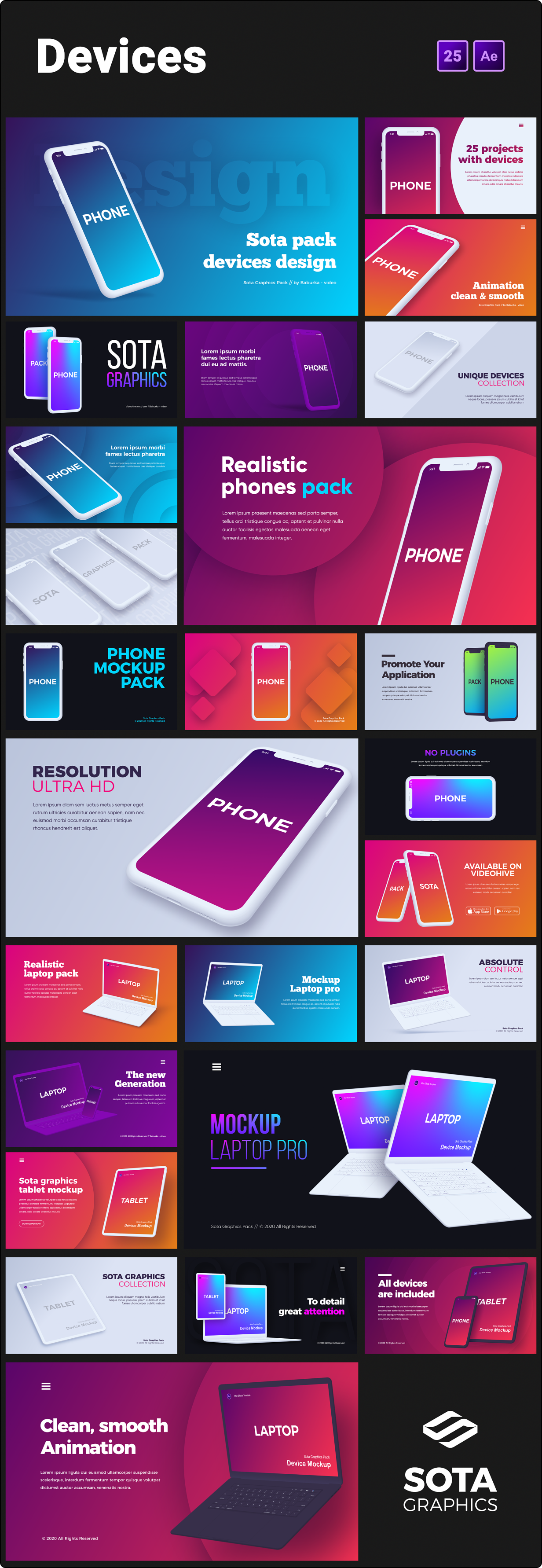 Motion Graphics Pack - 10