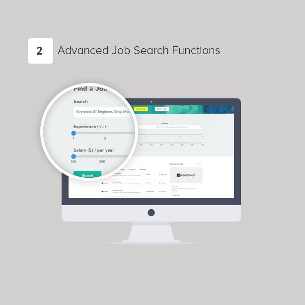 JobBoard - Responsive Recruitment Directory WordPress Theme - 3