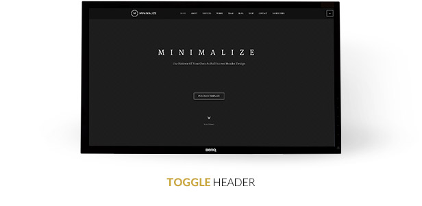 Minimalize | Single Page Theme - 7