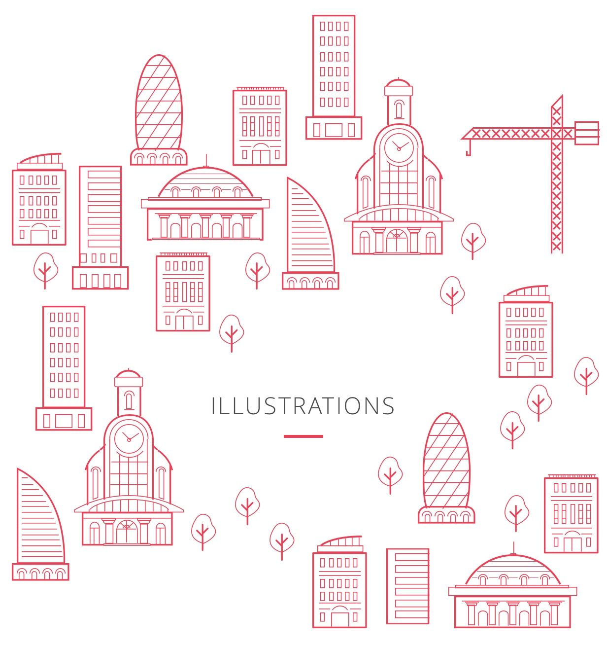Beautiful illustrations pack.