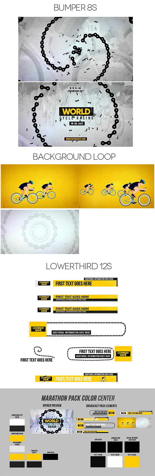 World Cycling Marathon Pack - 2