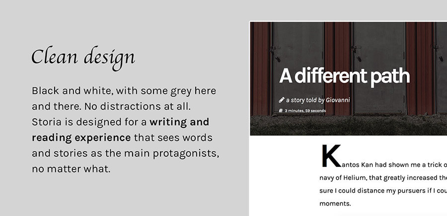 Storia - A WordPress Theme for Writers, Bloggers, Storytellers - 4
