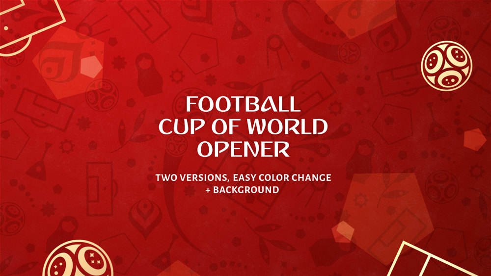 Football (Soccer) World Cup 2018 Simple Opener