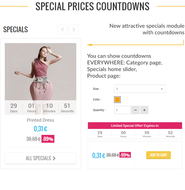 prestashop countdowns