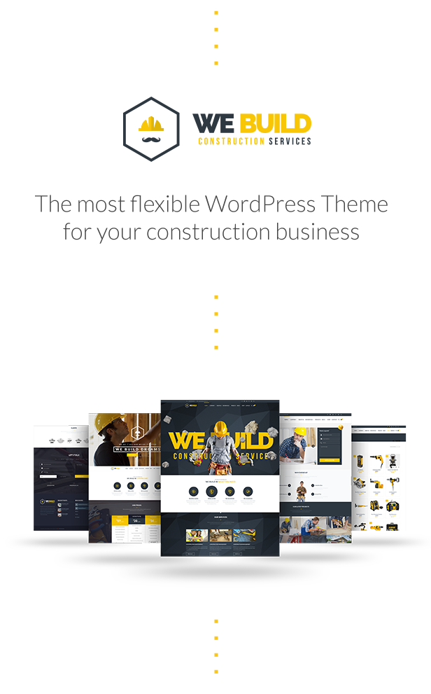 We Build - Construction WordPress Theme - 3