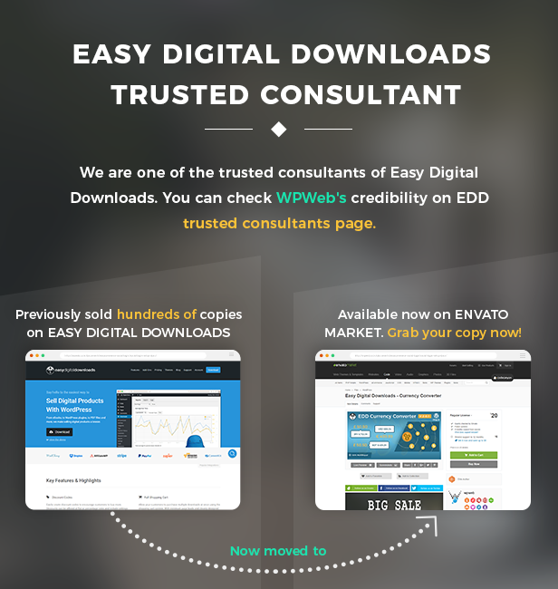 Easy Digital Downloads trusted consultant