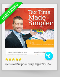 2 Corporate-Style Flyer/Ads Templates - 3