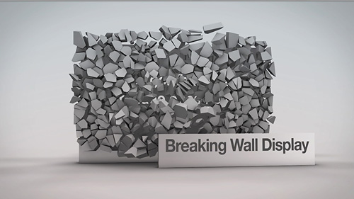 Breaking Wall Display - 2