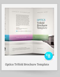 Rebellion Trifold Brochure - PSD Template - 7