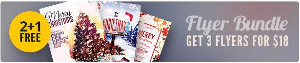 Christmas Flyer Bundle Vol.06