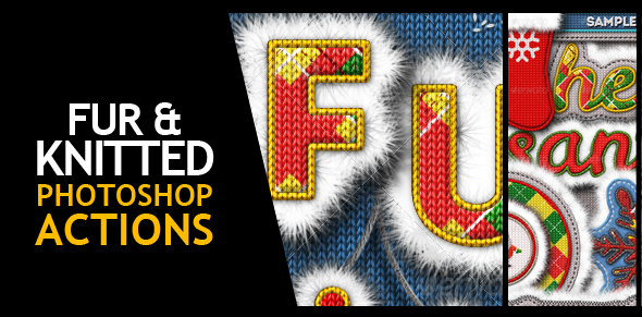 Fur and Knitted Fabric Photoshop Actions - 15
