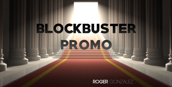 Blockbuster Promo by Roger Gonzalez