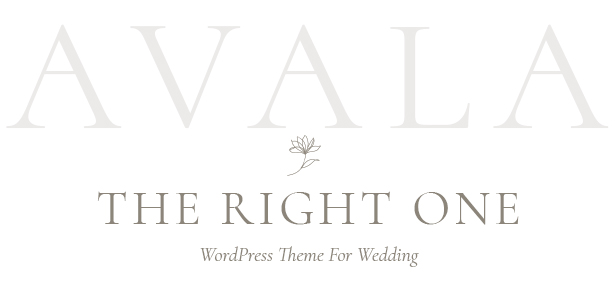 Avala - Wedding WordPress Theme - 3
