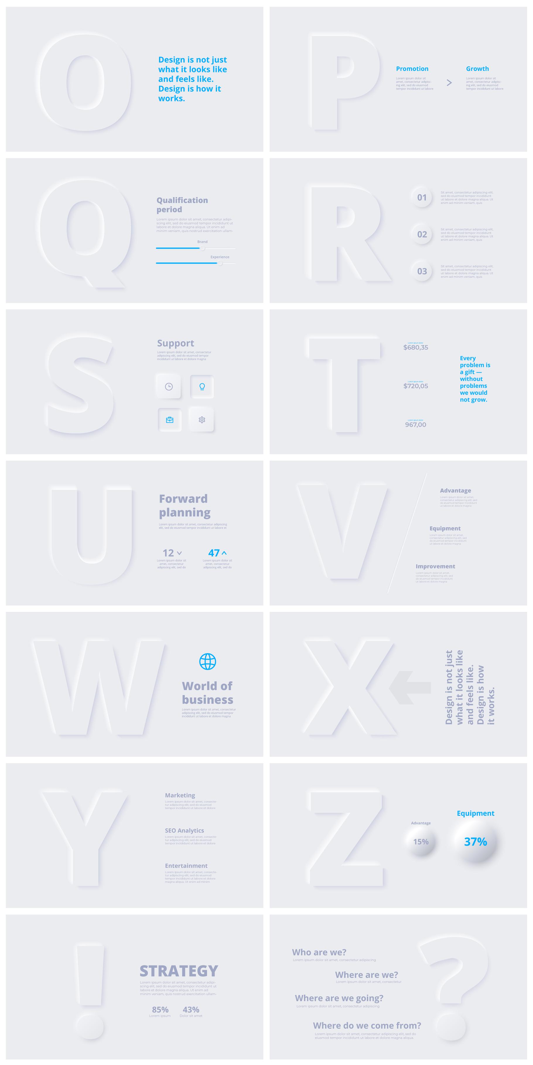 Multipurpose Infographics PowerPoint Templates v.5.0 - 59