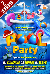 Salsa Party Flyer Template - 3