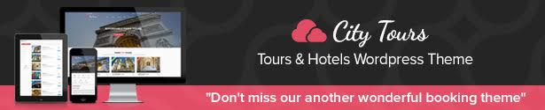 Citytours WordPress Theme
