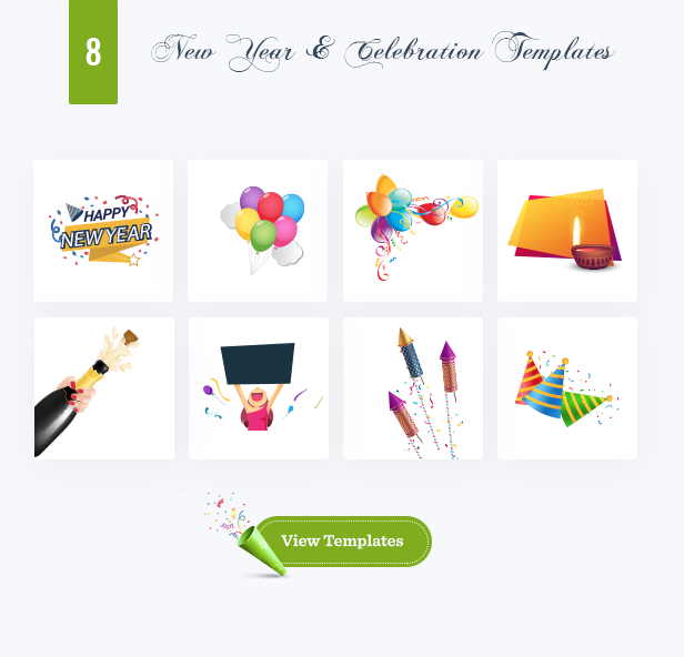 Apex Notification Bar - Happy New Year & Celebration Page