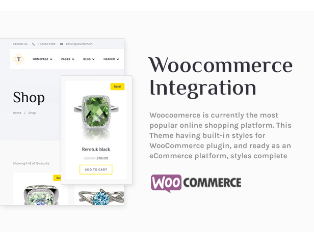 Tisara Jewelry WooCommerce Theme - 4