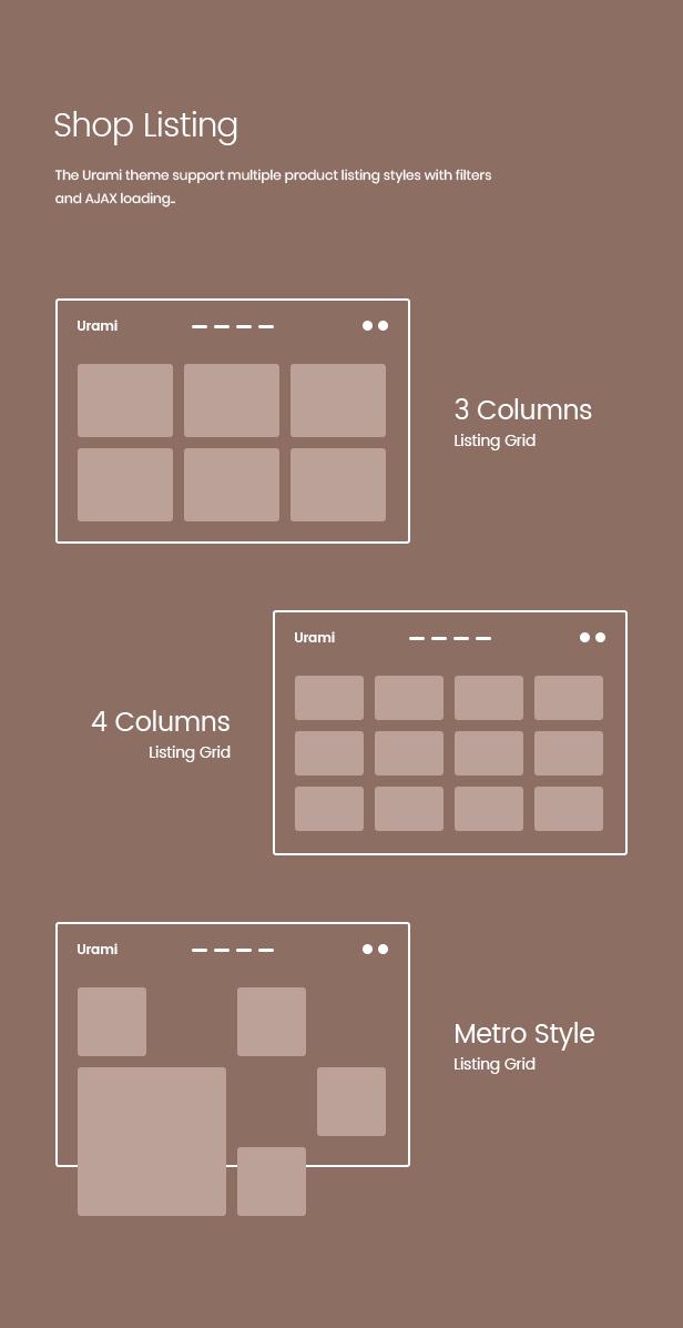 Urami WP - Modern minimalist WooCommerce theme - 5