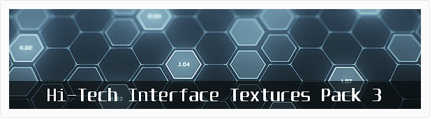 Hi-Tech Interface Textures Pack 3