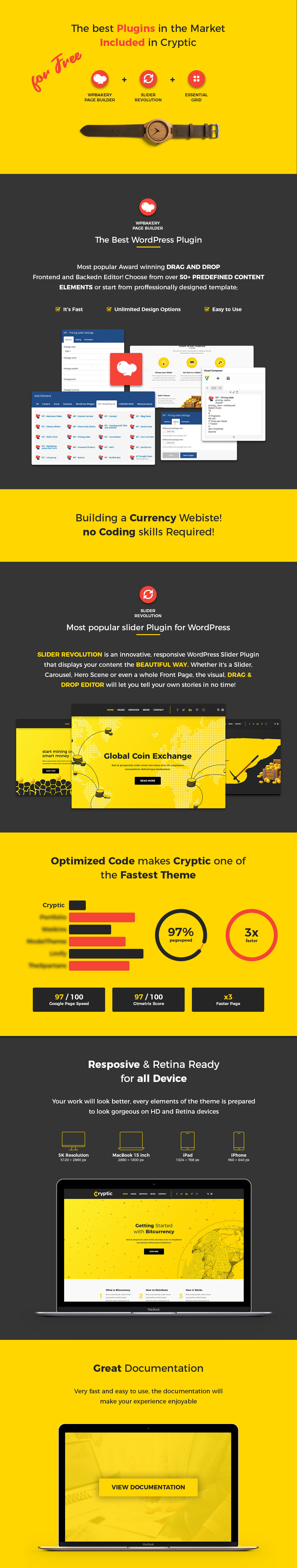 Cryptic - Cryptocurrency WordPress Theme - 7