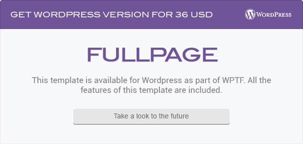 FullPage -  Fullscreen Multi Concept HTML5 Template - 1