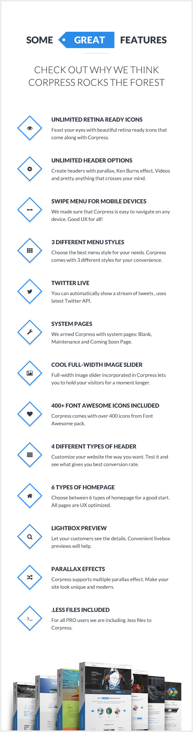 Corpress - Business and Infographics WP Theme - 10