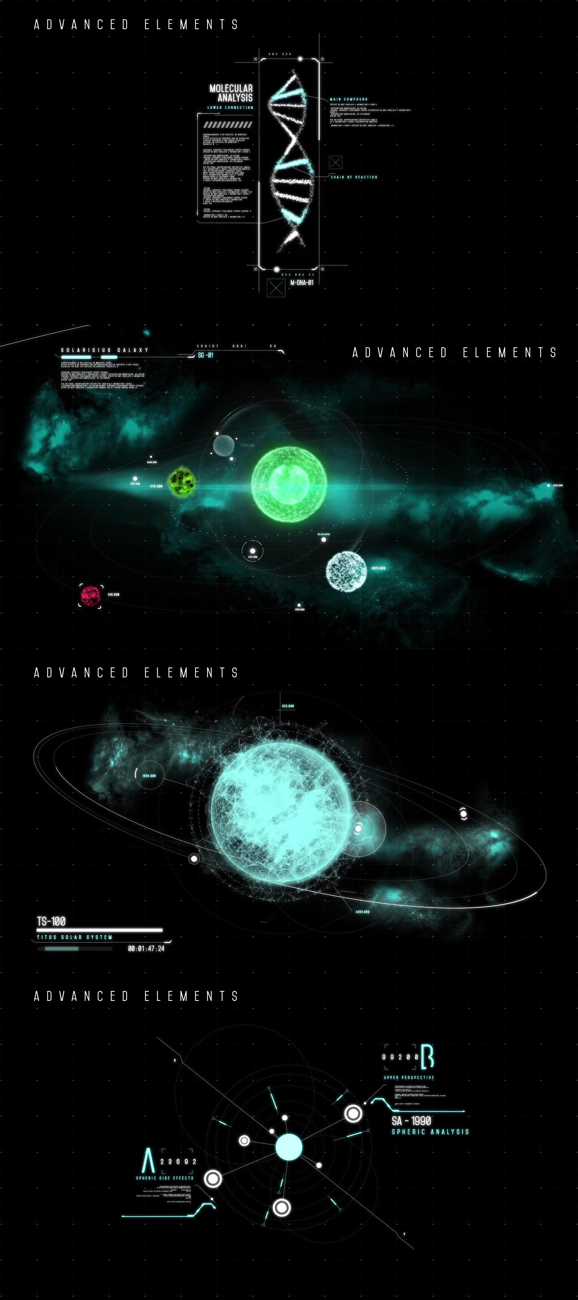 HUD - Titan Interface - 2