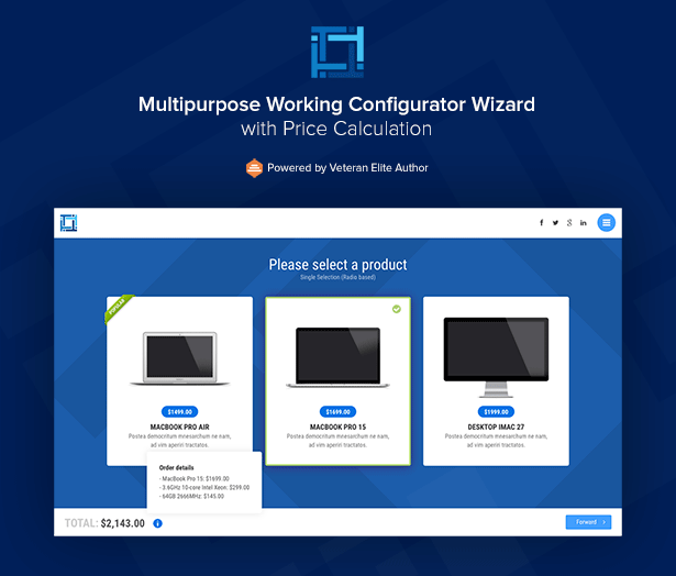 Multipurpose Working Configurator Wizard