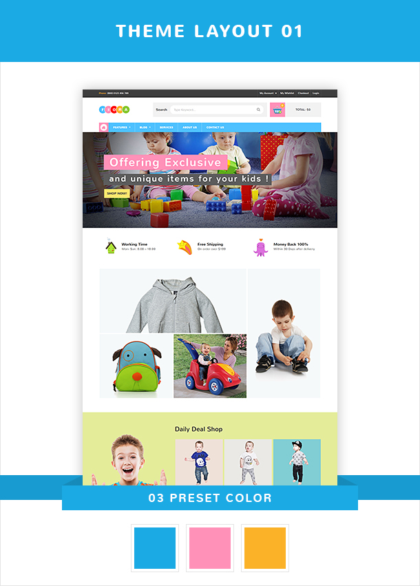 VG Fiora - WooCommerce WordPress Theme for Kids Store - 13