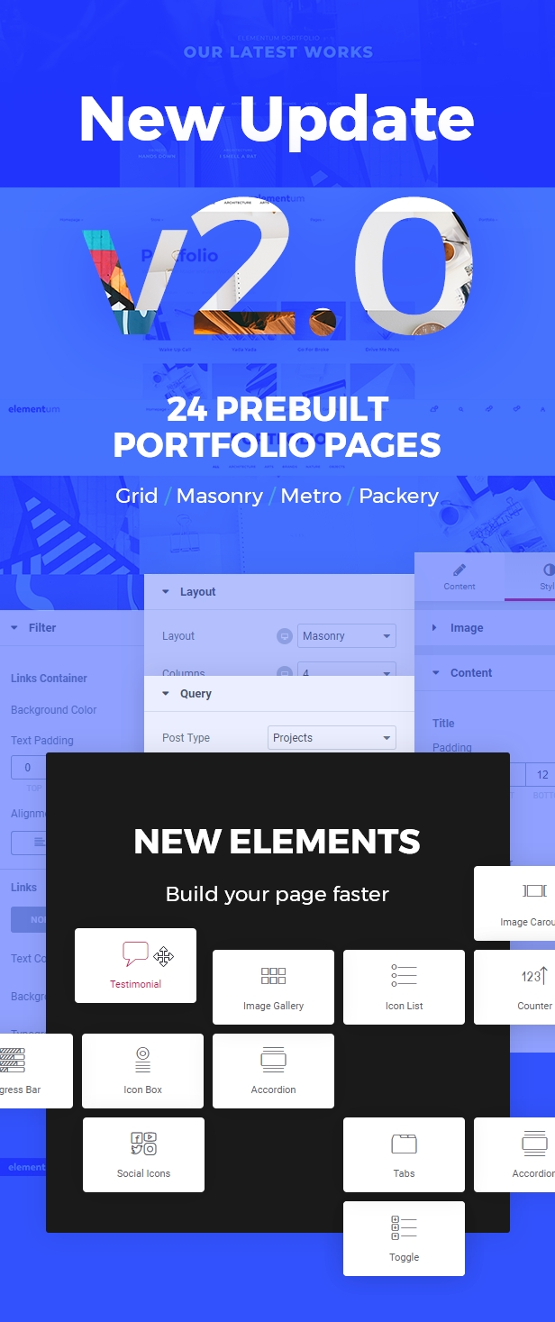 Elementum WordPress Theme
