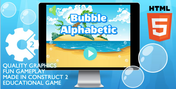 Bubble Alphabetic Educational - CodeCanyon Item for Sale