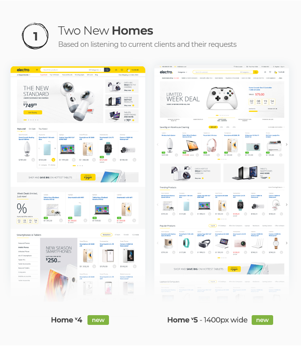 Electro Electronics Store WooCommerce Theme - 9