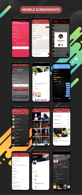 WoWonder Android Messenger - Mobile Application for WoWonder Social Script - 5
