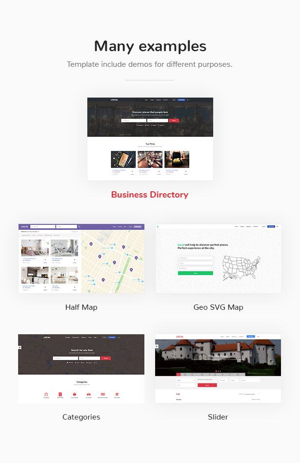 Business Directory Store Finder - Local