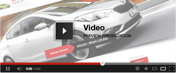 Dynamo - Rent-Sell-Buy Car Dealer HTML Responsive video presentation