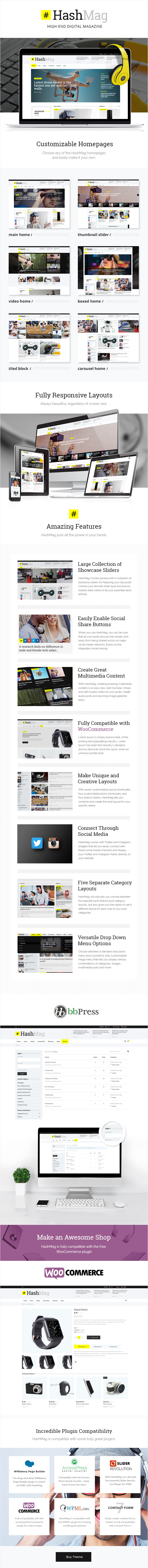 HashMag - Magazine & News Theme - 1