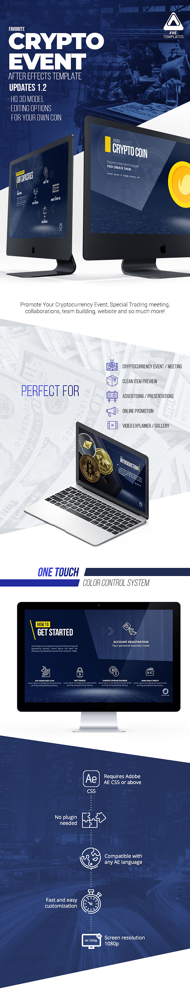 Cryptocurrency Event Broadcast Pack 2018