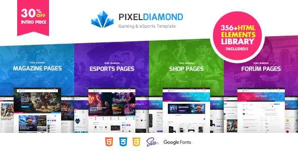 Emerald Dragon Digital Online Marketplace HTML Multipurpose