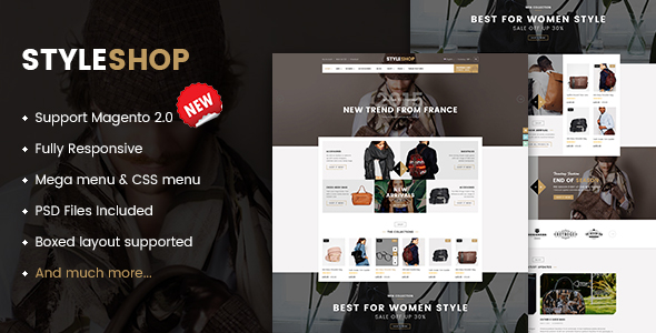 Best Free and Premium Magento 2.1 Themes in 2016 - Styleshop