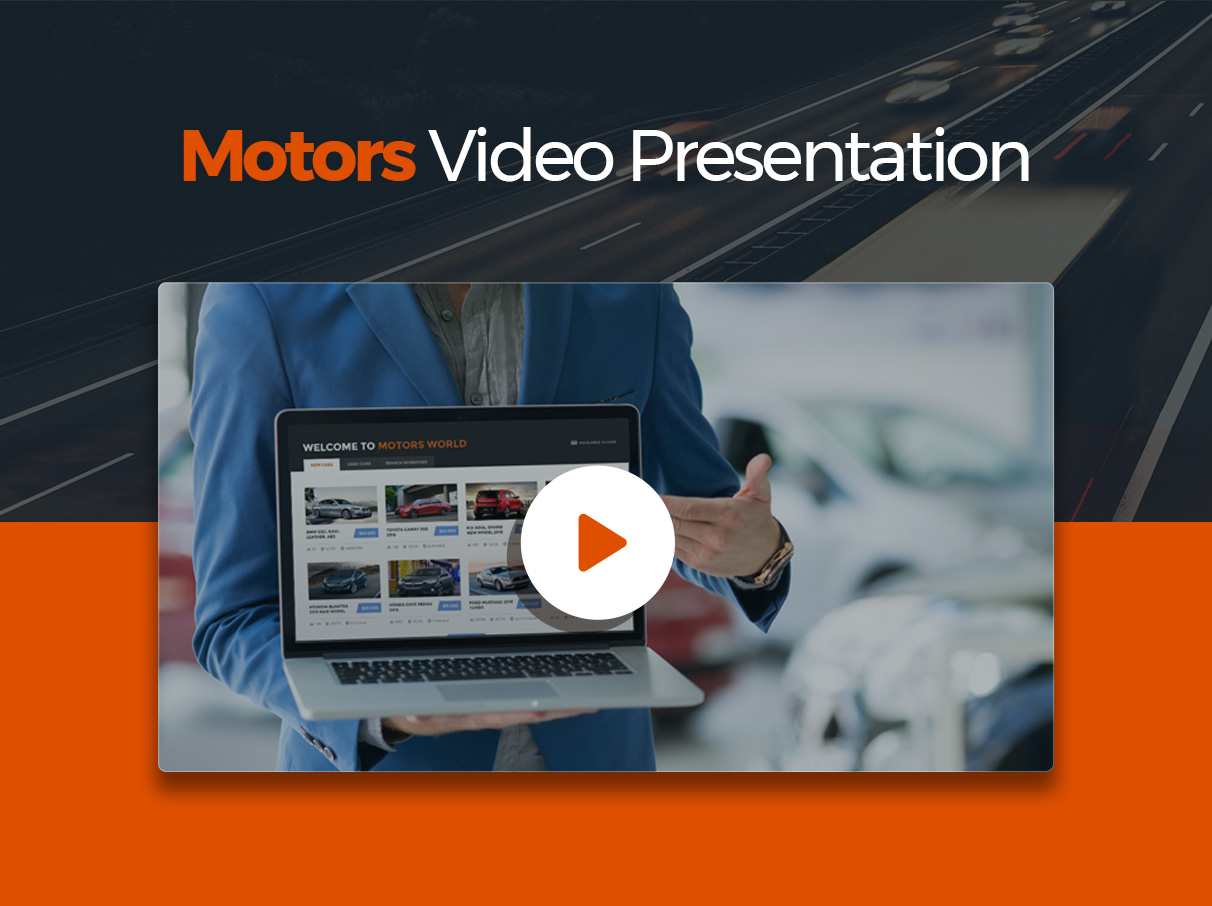 Motors - Automotive, Car Dealership, Car Rental, Auto, Classified Ads, Listing WordPress Theme - 1