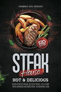 92-Steak-house-flyer-template