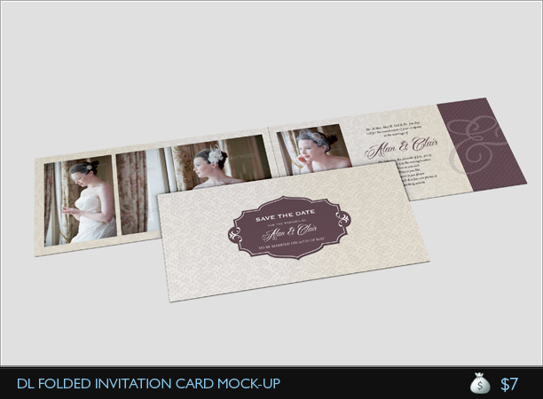 Wedding Invitation Card V3 by idesignstudionet GraphicRiver