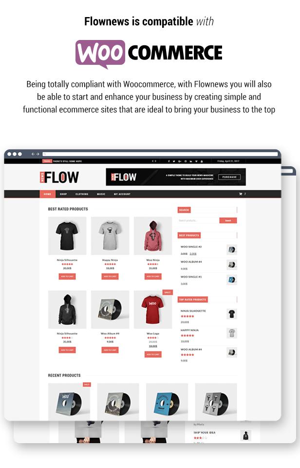 Flow News - Magazine and Blog WordPress Theme - 6
