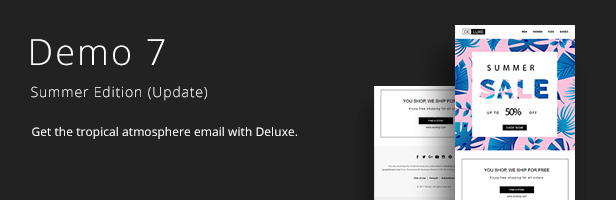 Deluxe - Fashion Store & Ecommerce Email Newsletter Template 10 Layout - 8
