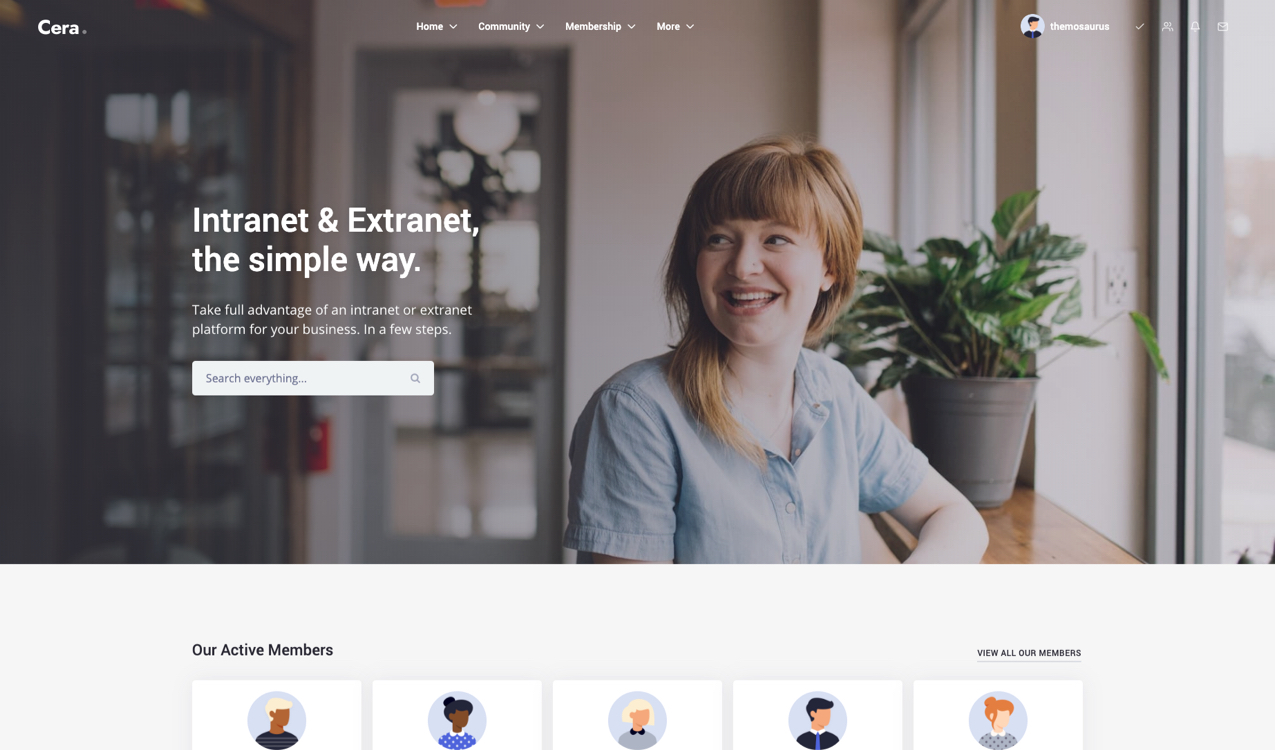 Cera - Intranet & Community Theme - 8